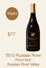 2013 Russian River Valley bottle