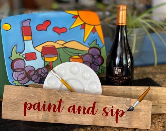 Paint & Sip - Paint Kit