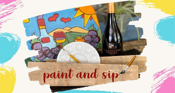 Virtual Paint & Sip with Papapietro Perry - September 3rd!