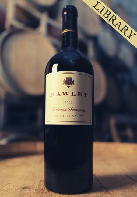 2002 Estate Cabernet Sauvignon, Hawley Vineyard