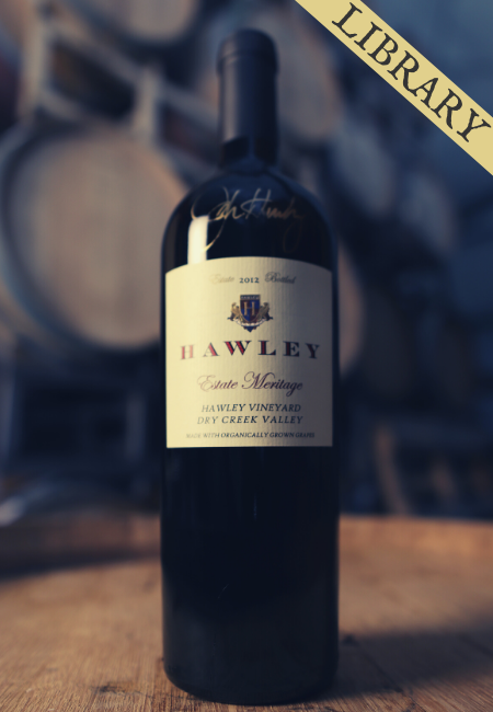 2012 Estate Meritage, Hawley Vineyard *Sold Out!*