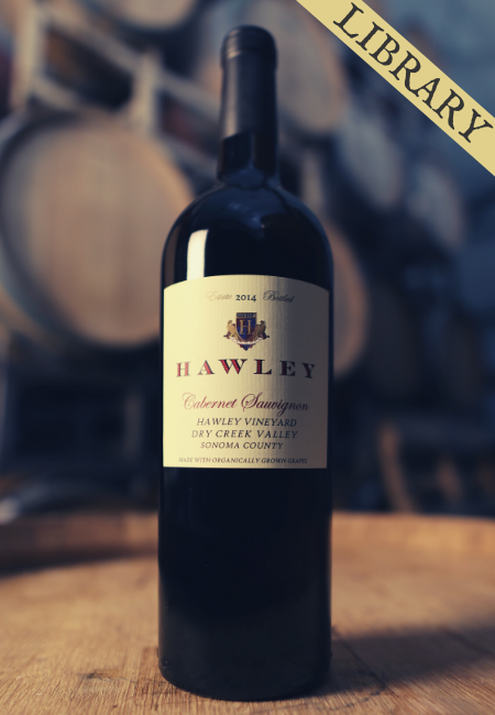 2014 Estate Cabernet Sauvignon, Hawley Vineyard -Club Exclusive-