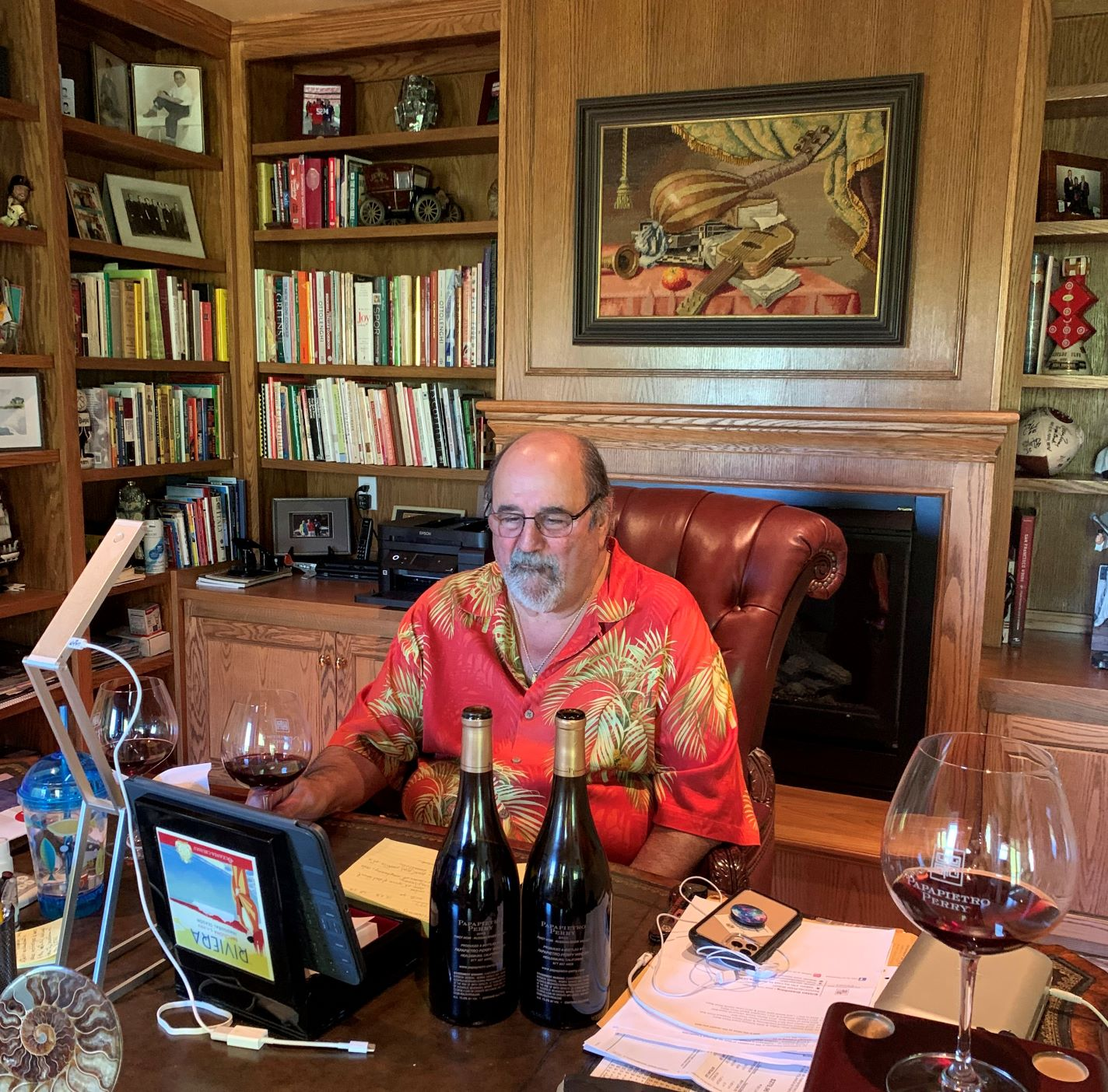 Ben Papapietro, vinyard, winemaker, pinot noir, dry creek valley, zinfandel, russian river valley, virtual tasting, zoom meeting