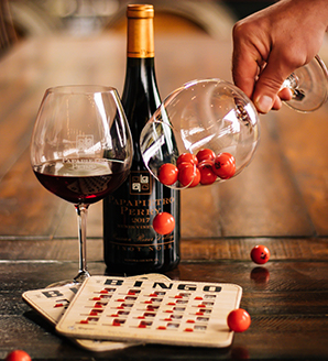 Virtual Wine Bingo