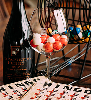Virtual Wine Bingo Wheel