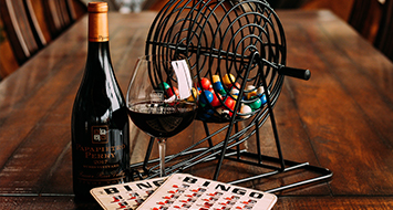 Virtual Wine & Bingo - Feeling Lucky? Join us for a family & winery favorite and have the opportunity to win Papapietro Perry prizes!
