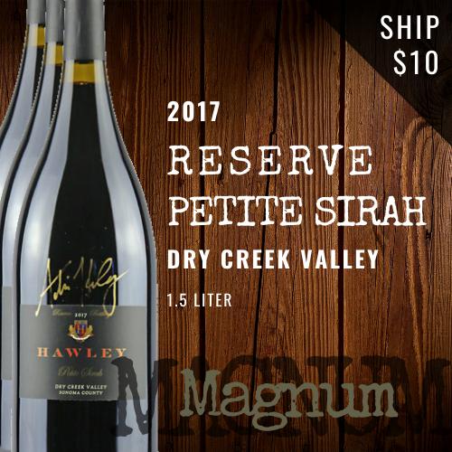2017 Reserve Petite Sirah Magnum