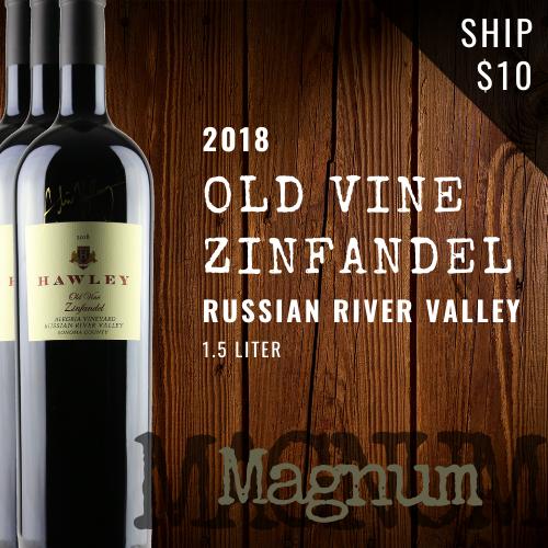 2018 Old Vine Zin, Alegria Magnum
