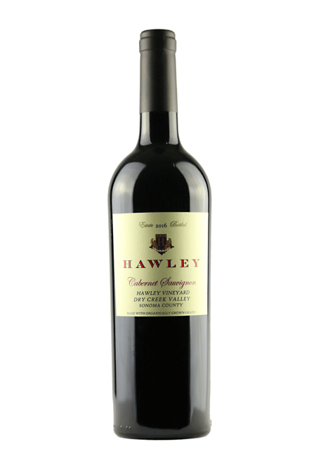 2016 Estate Cabernet Sauvignon, Hawley Vineyard