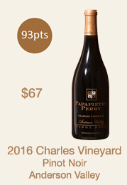 2016 Charles Pinot Noir Library Selection