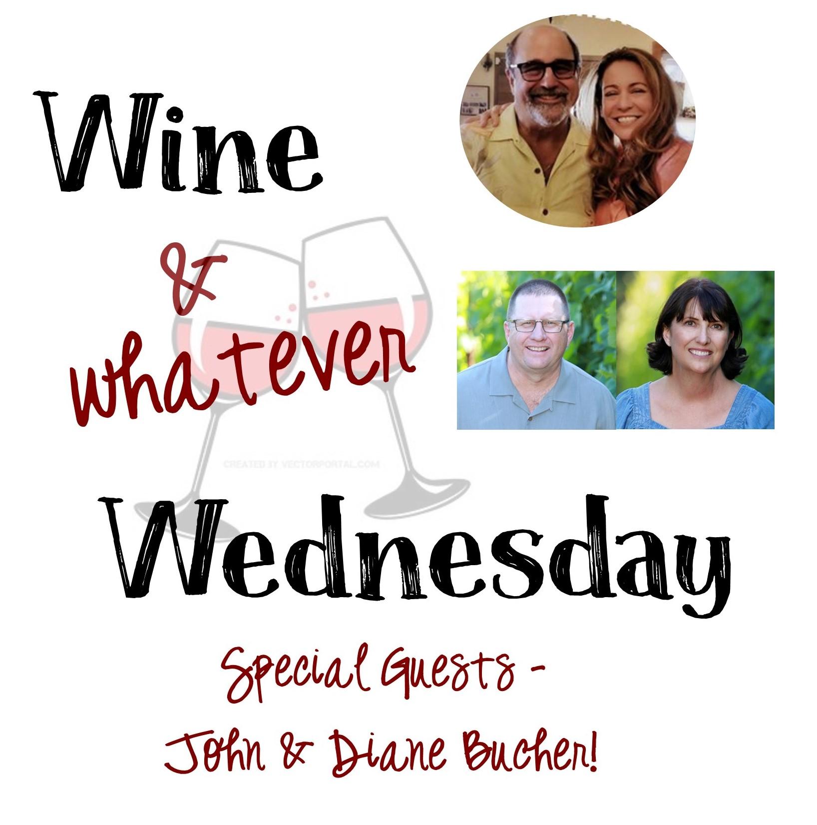 Wine Wednesday Ben Kristen John & Diane Bucher