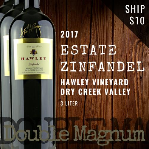2017 Estate Zinfandel Double Magnum