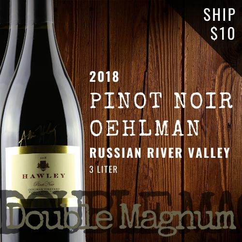 2018 Pinot Noir Double Magnum