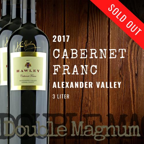 2017 Cabernet Franc Double Magnum