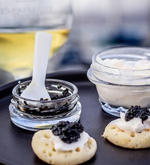 Wine & Caviar SF Pairing