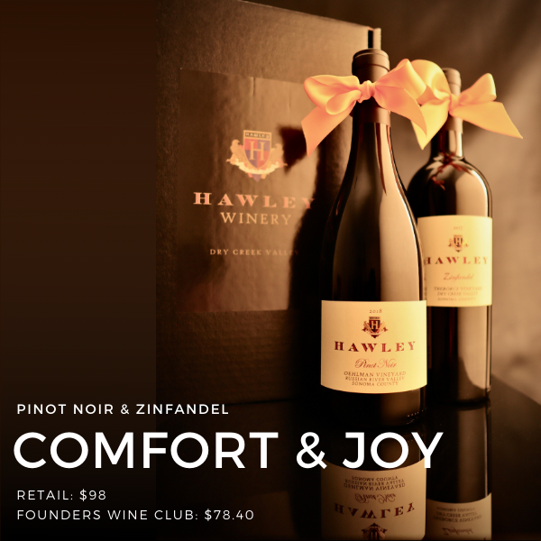 A gift set of Pinot Noir & Zinfandel