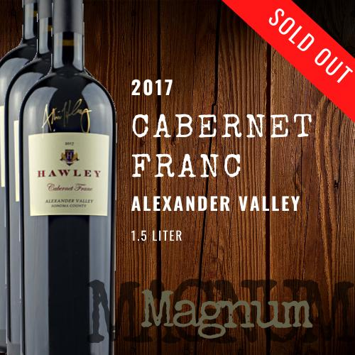 2017 Cabernet Franc Magnum