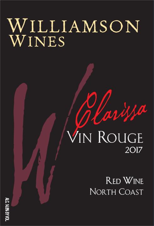 Clarissa Vin Rouge 2017