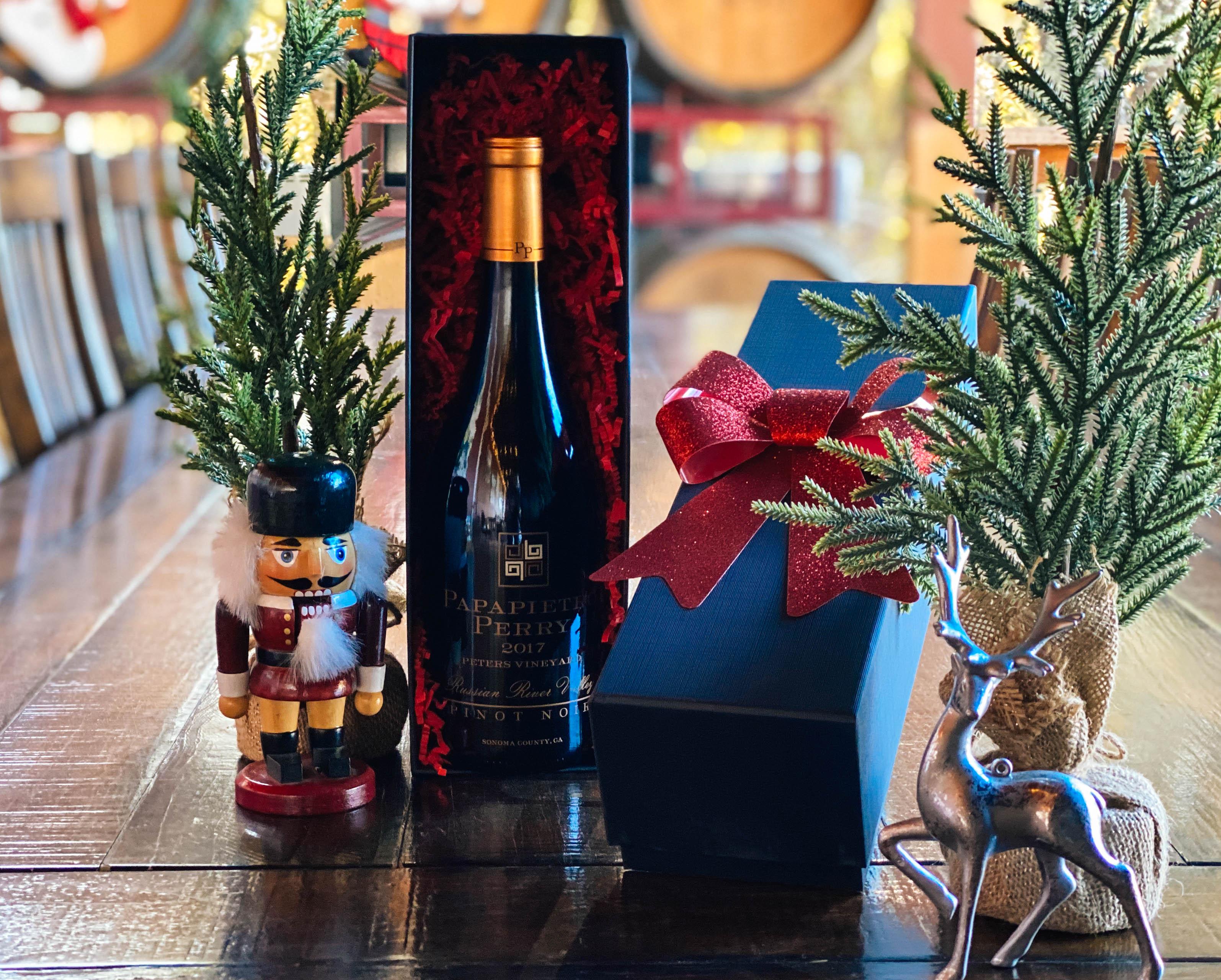wine bottle gift set