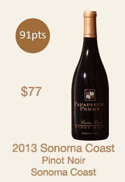 2013 Sonoma Coast Library Wine bottle