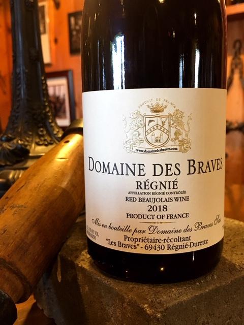 2018 Domaine Des Braves Régnié Beaujolais