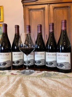 2012 - 2017 12 Bottle Vertical Bucher Vineyard Pinot Noir