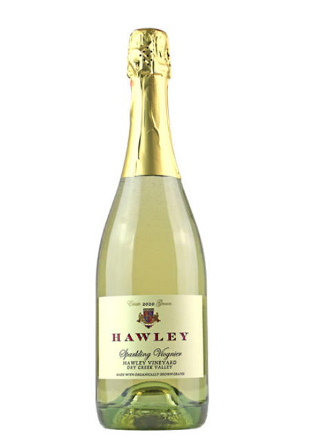 2020 Sparkling Viognier, Hawley Vineyard