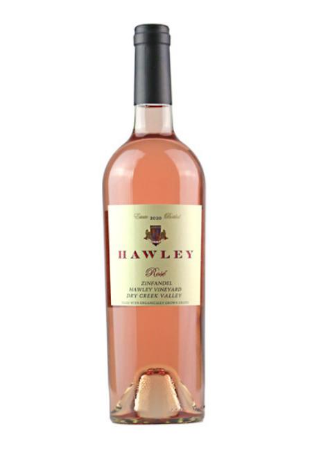 2020 Estate Rose, Hawley Vineyard