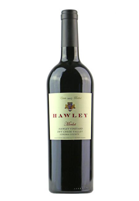 2017 Estate Merlot, Hawley Vineyard