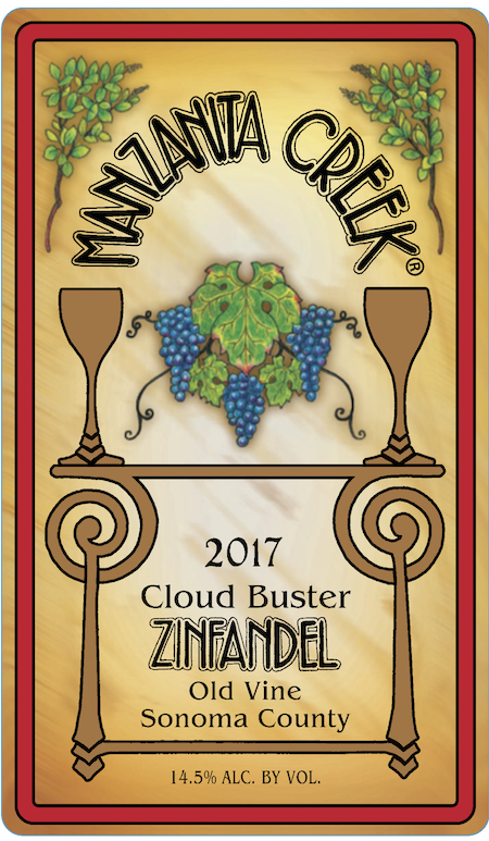 2017 Cloud Buster Old Vine Zinfandel