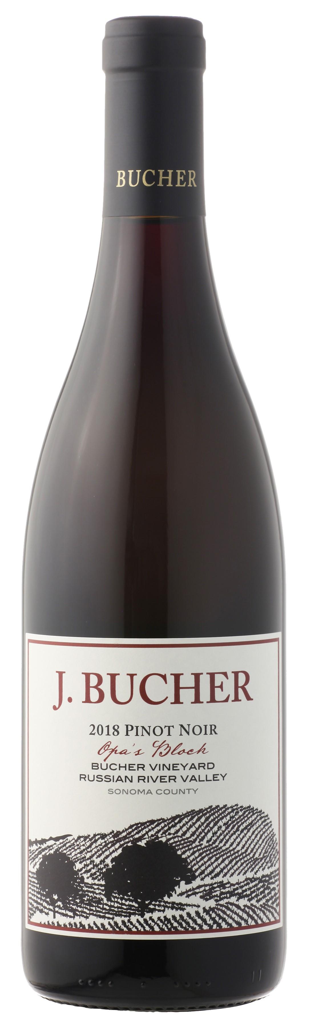 2018 Pinot Noir Opa's Block Bucher Vineyard Russian River Valley