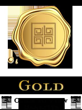 Gold level star