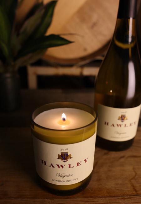 Wine Bottle Candle - Short