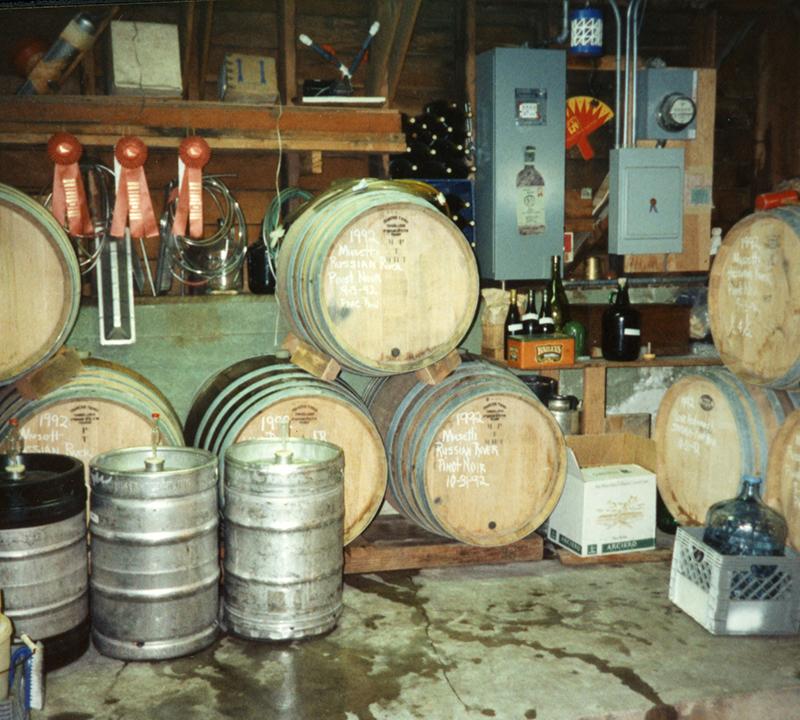 Garage Barrels