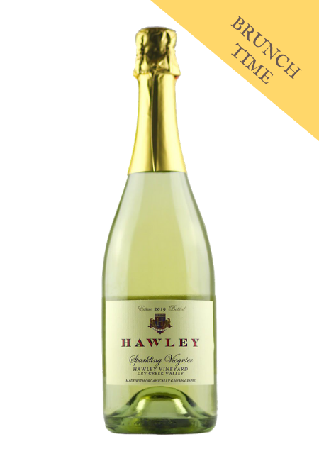 2019 Sparkling Viognier, Hawley Vineyard *Sold out!*