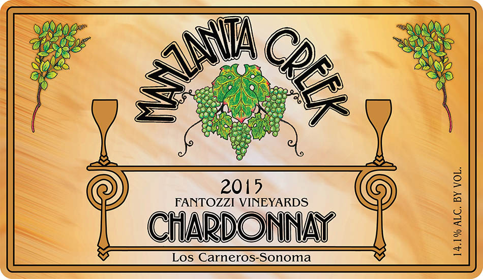 2015 Chardonnay, Fantozzi Vineyard (PRICE DROP) Full Cases