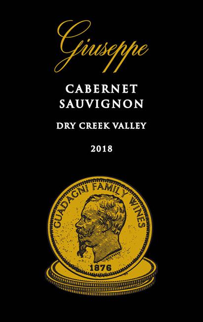 2018 Guiseppe Cabernet Sauvignon