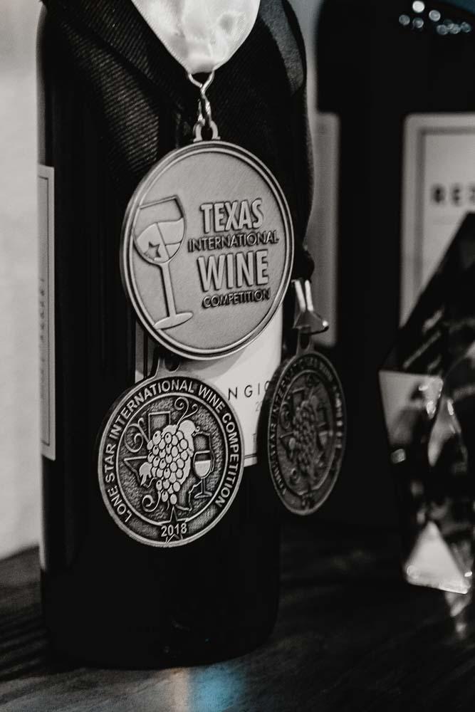 Authentic Texas Wine Selection