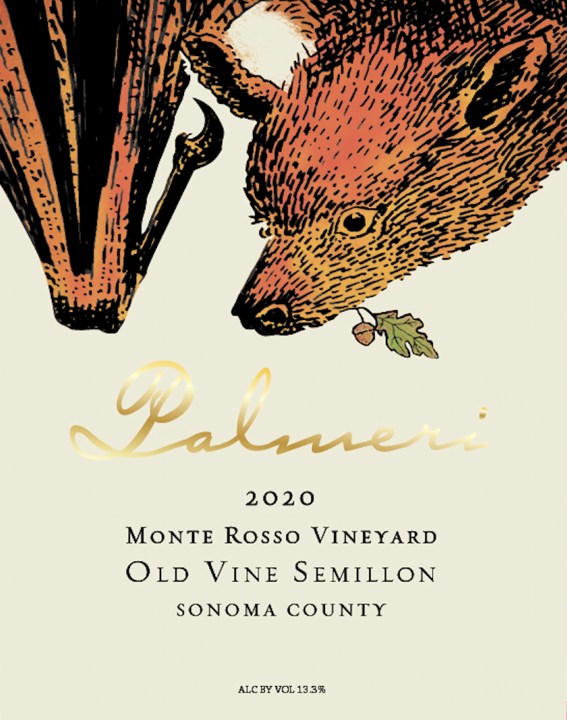 2020 Palmeri Monte Rosso Sémillon