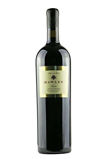 2017 Estate Merlot, Hawley Vineyard 3L Double Magnum