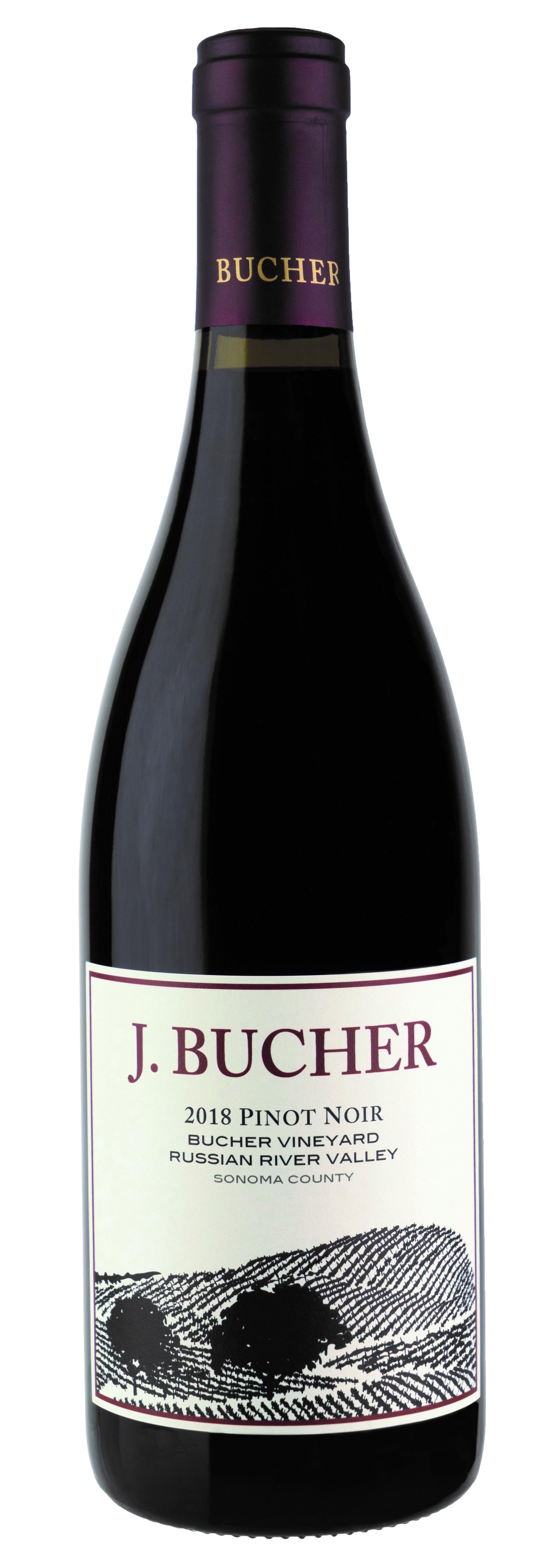 2018 Bucher Vineyard Pinot Noir 6 Pack
