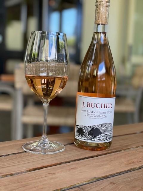 2020 Rose of Pinot Noir Bucher Vineyard Russian River Valley 6 Pack