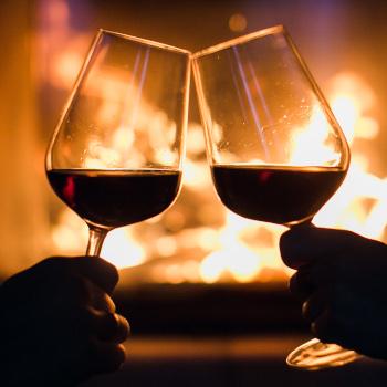 Fireplace cheers