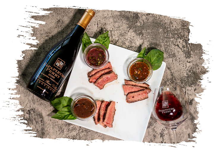 Perfectly Paired Steak Sauce Trio
