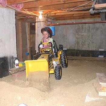 Digging cellar