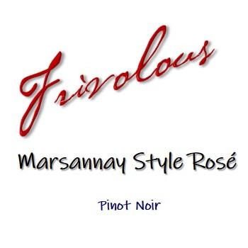 Frivolous Rose Label