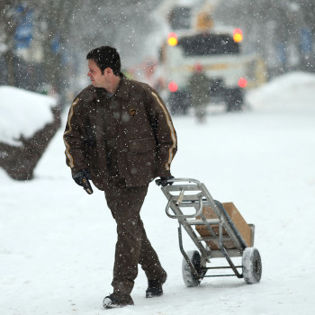UPS Snow Delivery