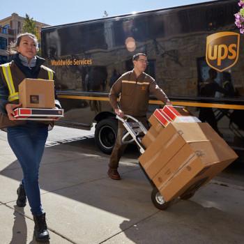 UPS Split delivery