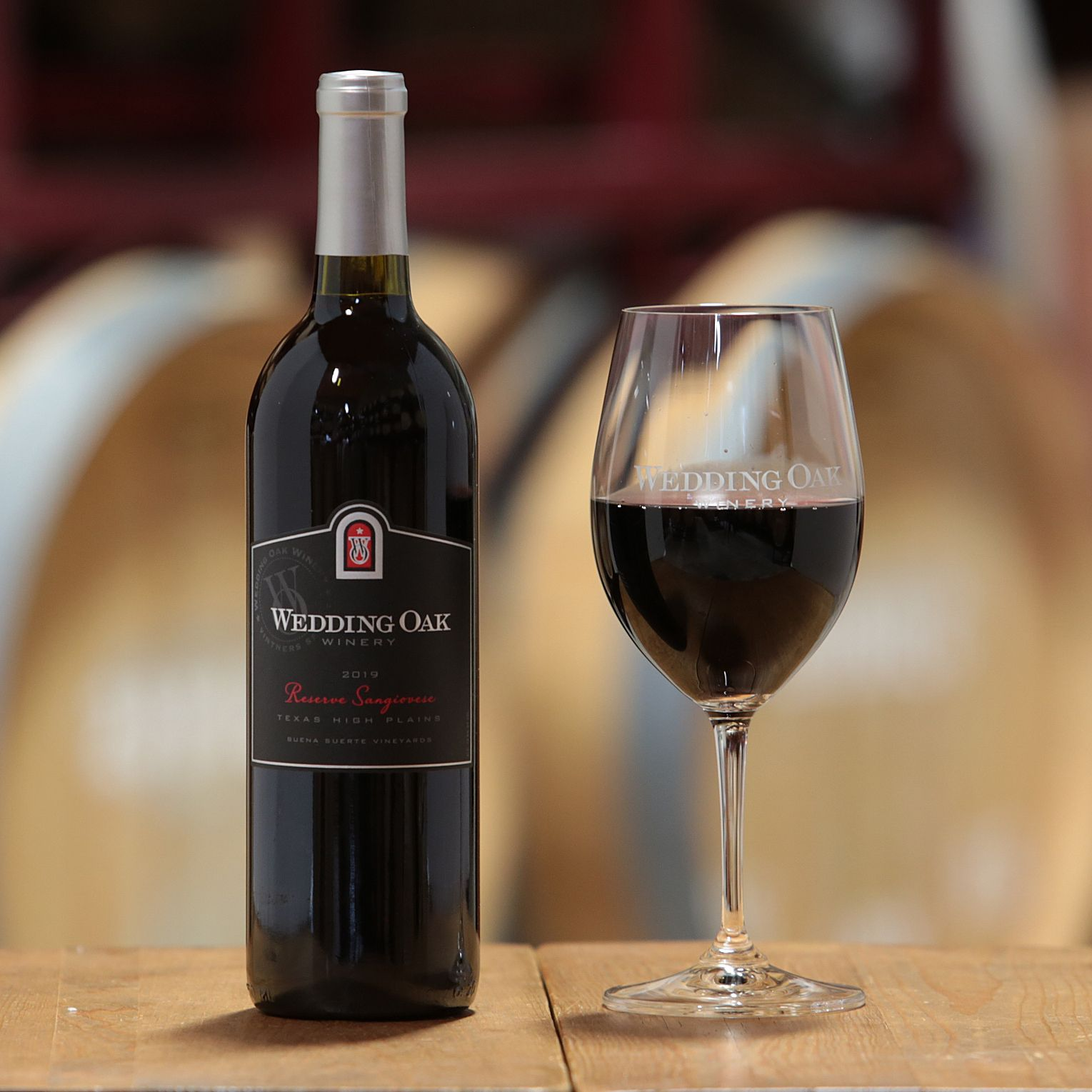 Sangiovese Reserve Texas High Plains, Buena Suerte Vineyards 2019