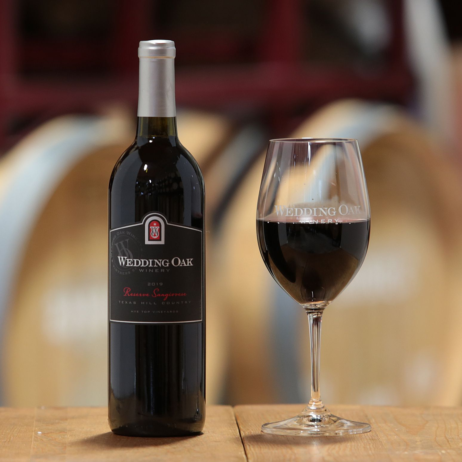 Sangiovese Reserve Texas Hill Country, Hye Top Vineyards 2019